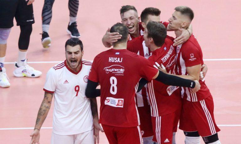 Ολυμπιακός – ΠΑΟΚ 3-0 σετ: Κυρίαρχος για τελικό