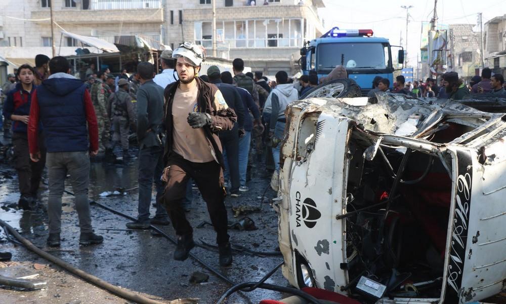 Σύνορα Συρίας – Τουρκίας: Δέκα νεκροί από βόμβα (pics)