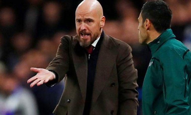 Άγιαξ: Έξαλλος ο Τεν Χαγκ με τον διαιτητή – «Επίθεση» στην UEFA