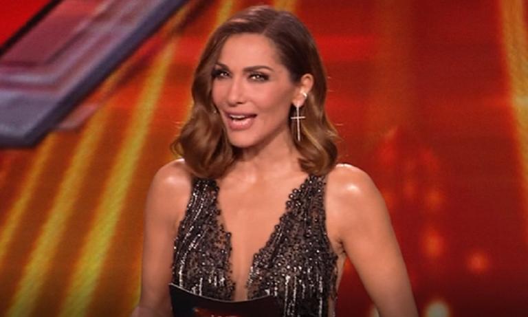X Factor: Εντυπωσιακή Δέσποινα Βανδή με φόρεμα… διαφανές (pics+vid)