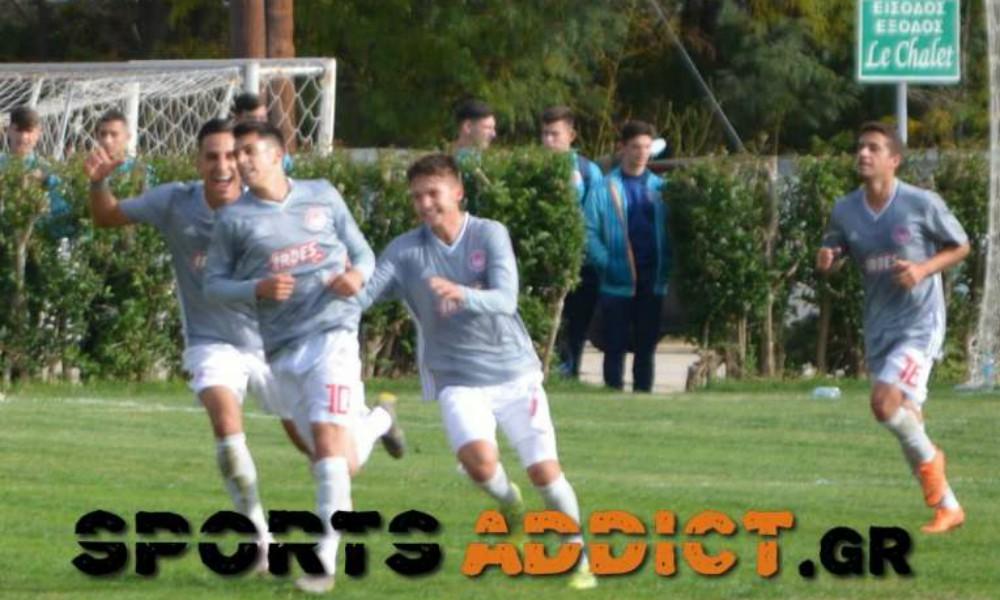 Ξάνθη Κ19 – Ολυμπιακός Κ19 1-3: Πρώτη νίκη Νικοπολίδη