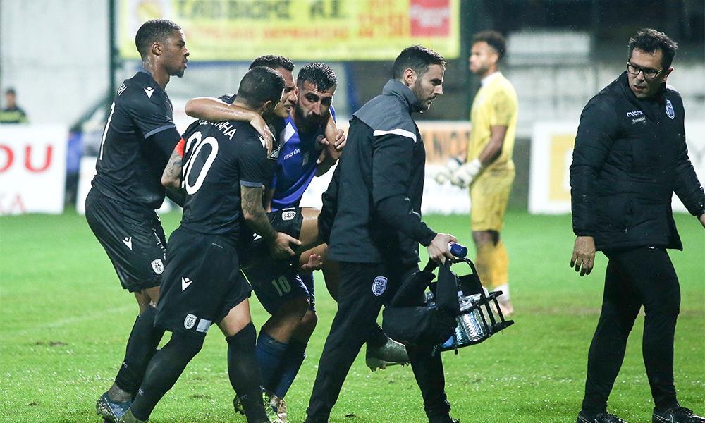 Ζαμπά: Χτύπησε σοβαρά ο Βραζιλιάνος! - Sportime.GR