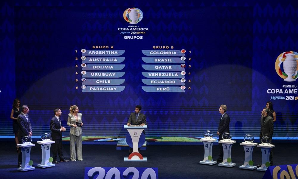 Copa America 2020: Η κλήρωση των δύο ομίλων