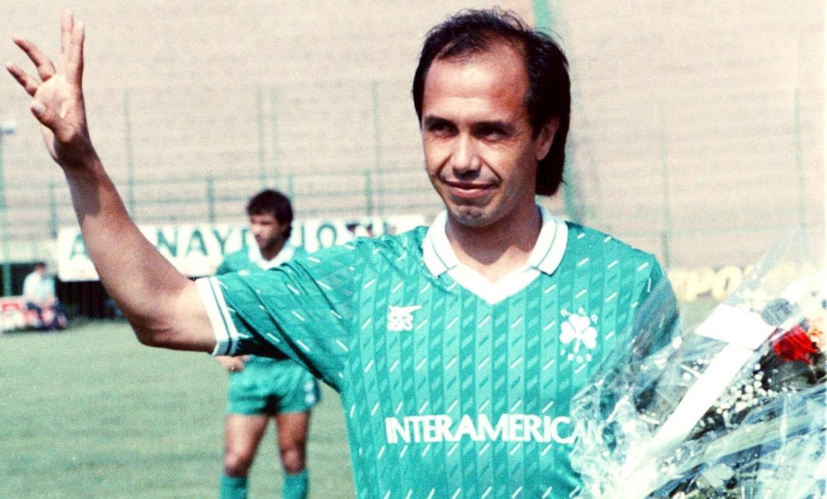 1979 (23/12): Ντεμπουτάρει με τον Παναθηναϊκό ο Χουάν Ραμόν Ρότσα - Sportime.GR