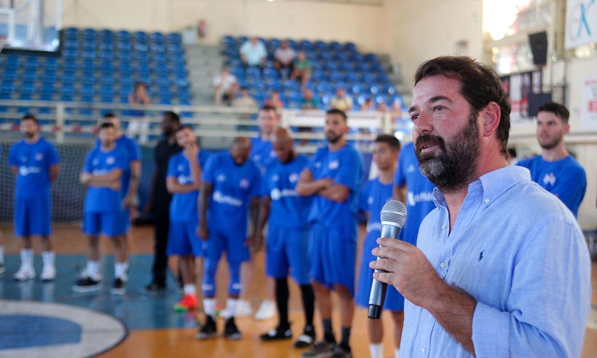 Τσάπας: «Θετικό βρέθηκε το ελληνικό μπάσκετ στον κορονοϊό»