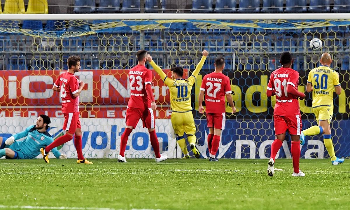 Αστέρας Τρίπολης – Ξάνθη 5-0: Διέλυσε τους Ακρίτες που δεν βλέπονται