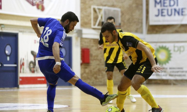 Futsal Super League: Νίκες για ΑΕΚ και Δούκα στα ντέρμπι
