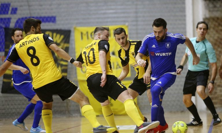 Futsal Super League: Καμία αλλαγή στην κορυφή