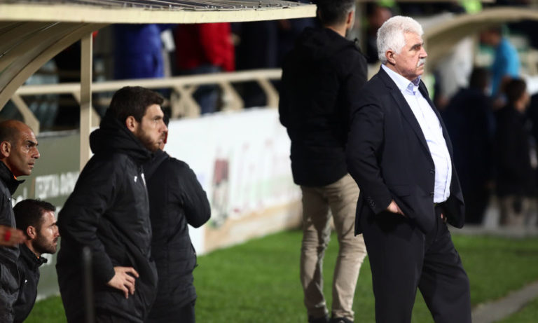 Γκουτσίδης: «Ελέγχαμε το παιχνίδι μέχρι την κόκκινη κάρτα»