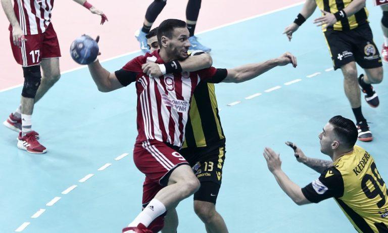 Σούπερ ντέρμπι Ολυμπιακός-ΑΕΚ στα ημιτελικά του Κυπέλλου Χάντμπολ!