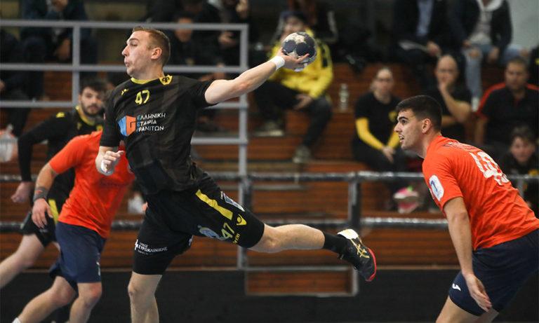 Handball Premier: Πρωταθλήτρια Χειμώνα η ΑΕΚ