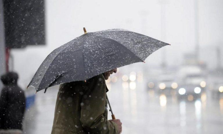 Καιρός 16/1: Βροχές, καταιγίδες και τσουχτερό κρύο