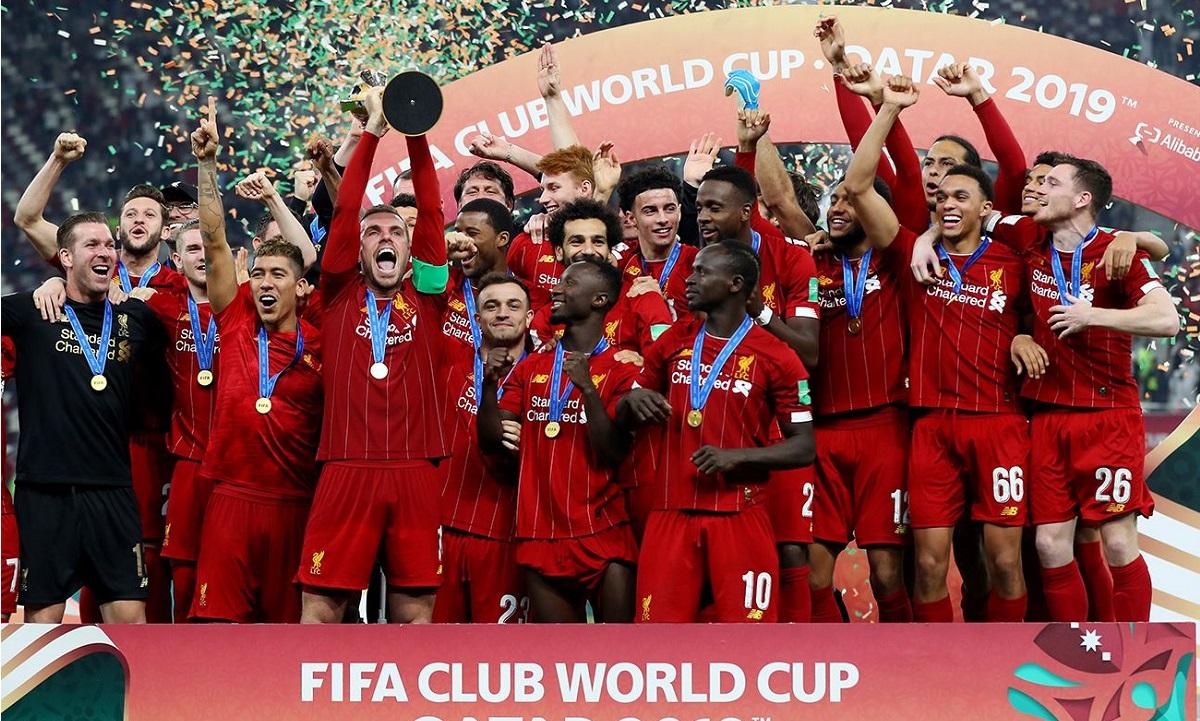 Η Λίβερπουλ θα φορέσει το σήμα των Πρωταθλητών Κόσμου για ένα μόνο ματς!