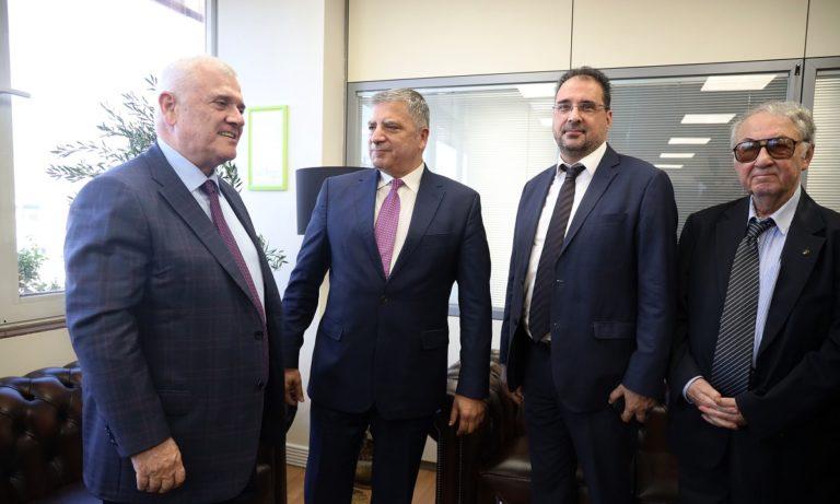 ΑΕΚ: Επεσαν οι υπογραφές στην Περιφέρεια -Τι είπε ο Μελισσανίδης