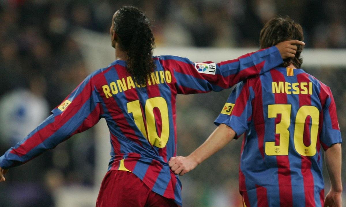 Ροναλντίνιο: «Δεν μπορώ να πω ότι ο Μέσι είναι ο καλύτερος όλων των εποχών»