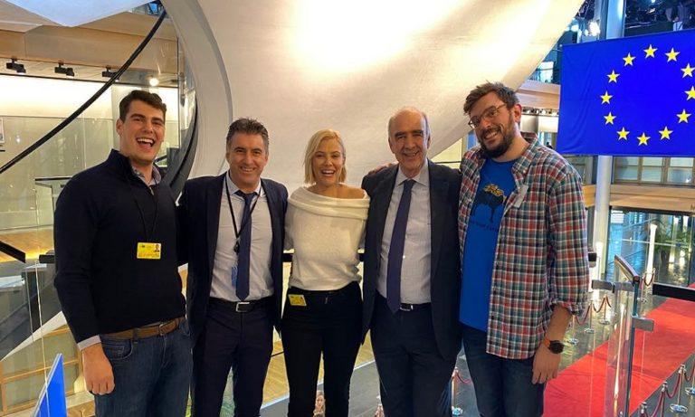 Νάργες, Ζαγοράκης και Μεϊμαράκης στο Ευρωκοινοβουλιο
