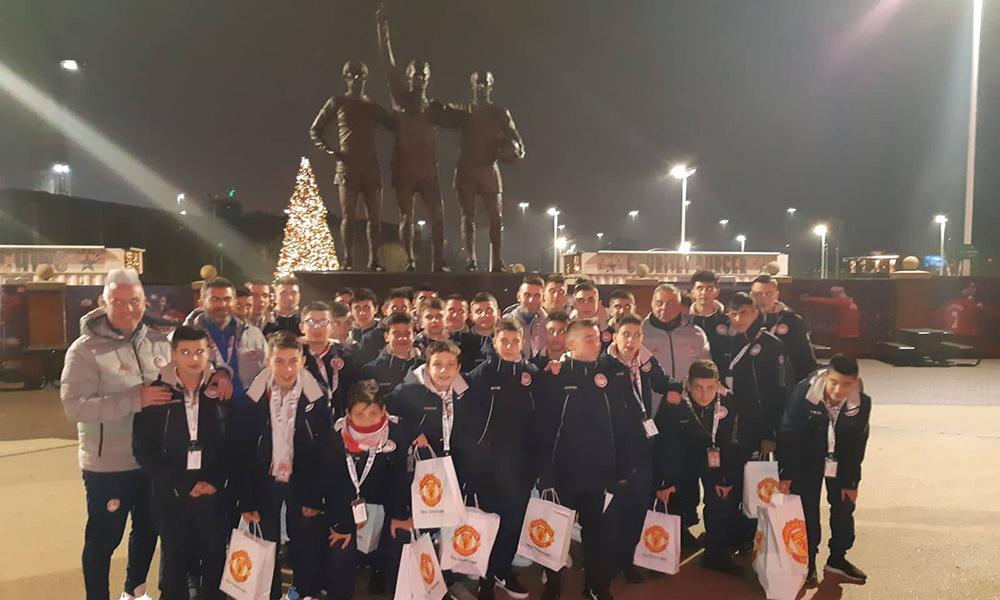 Ολυμπιακός: Επίσκεψη στο «Ολντ Τράφορντ» (pics)