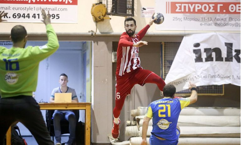 Handball Premier: Άνετα πριν την ΑΕΚ ο Ολυμπιακός