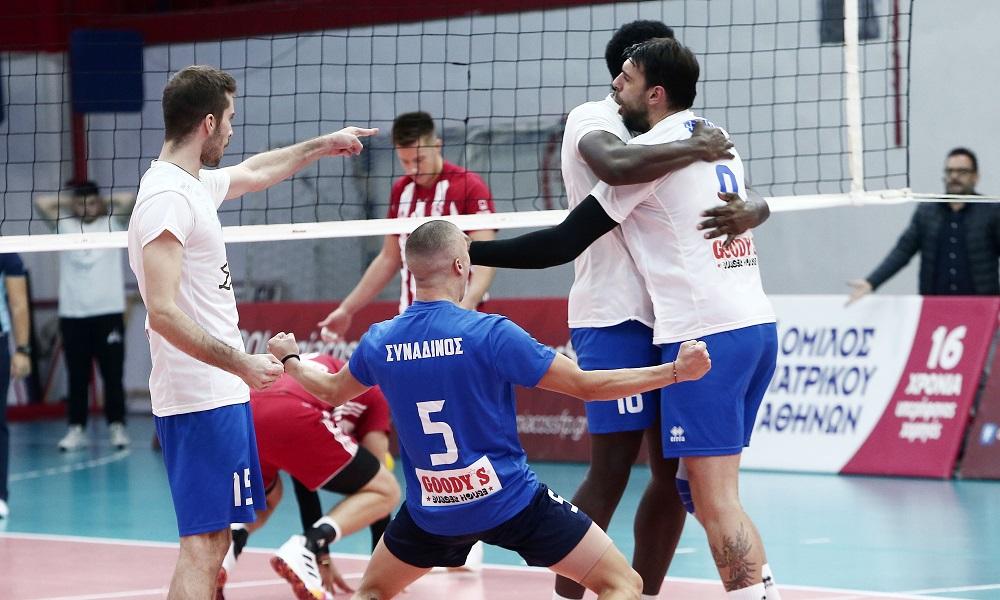 Volley League: «Μπαμ» από την Κηφισιά, 3-2 τον Ολυμπιακό στο Ρέντη! (vid)