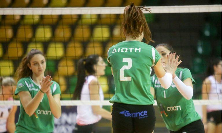 Volley League Γυναικών: Πέρασε από τη Νάξο ο Παναθηναϊκός