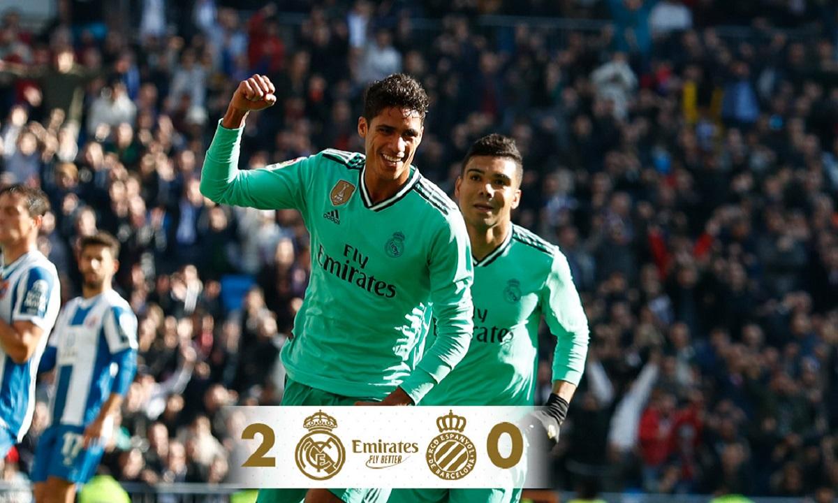 La Liga: «Σβηστά» η Ρεάλ Μαδρίτης με 2-0 την Εσπανιόλ