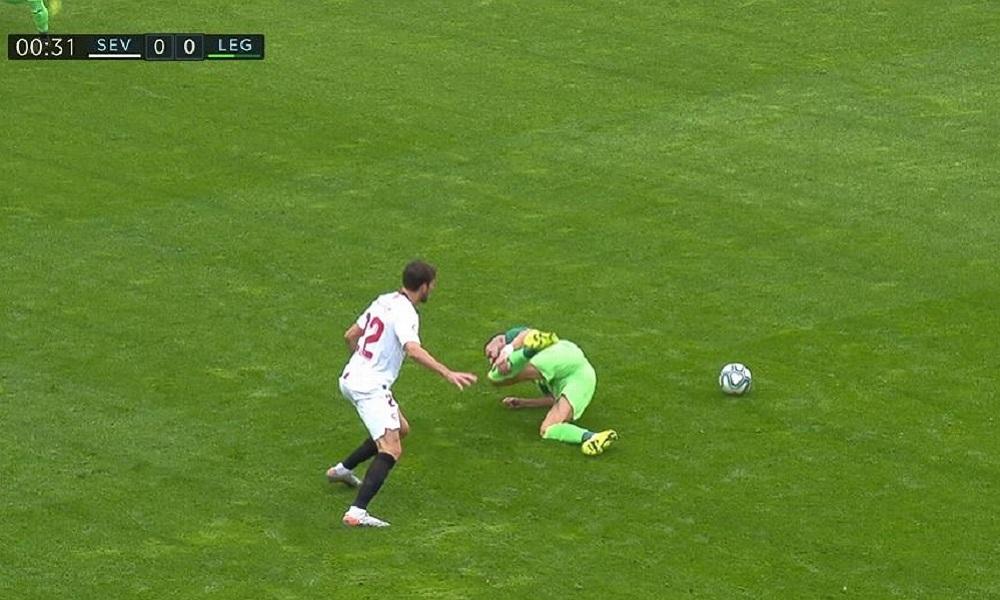 Σεβίλλη – Λεγανές: Αποχώρησε τραυματίας ο Σιόβας (pic) - Sportime.GR