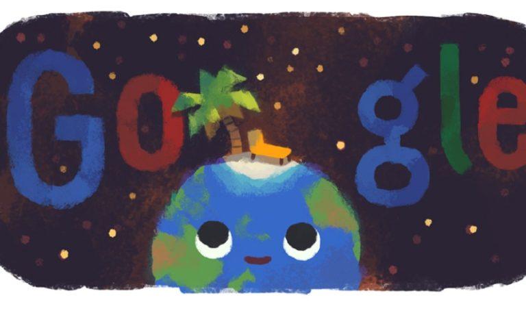 Το doodle της Google για το χειμερινό ηλιοστάσιο (pic)