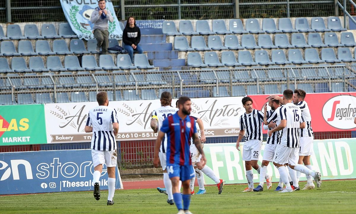 Κέρκυρα – Απόλλων Σμύρνης 0-2: Πρώτη ξανά η «ελαφρά ταξιαρχία»