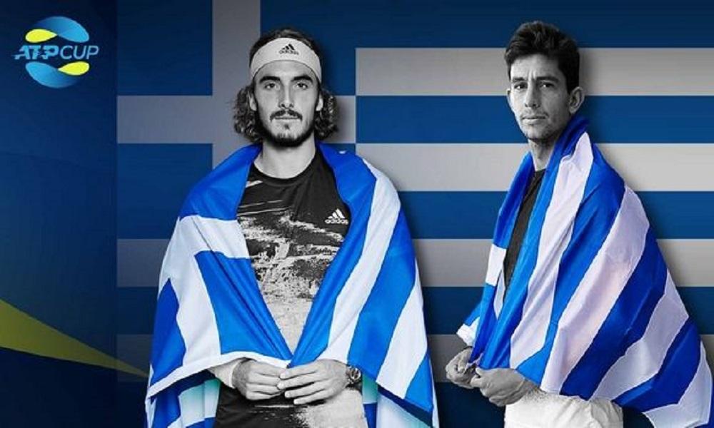 Το πρόγραμμα Τσιτσιπά και Περβολαράκη στο ATP Cup