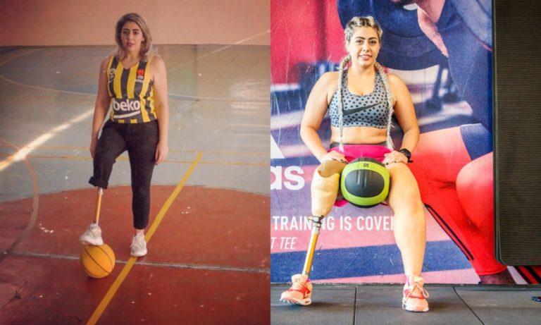 Νεσρίν: Η πρώτη γυμνάστρια με τεχνητό μέλος στην Euroleague (vid)