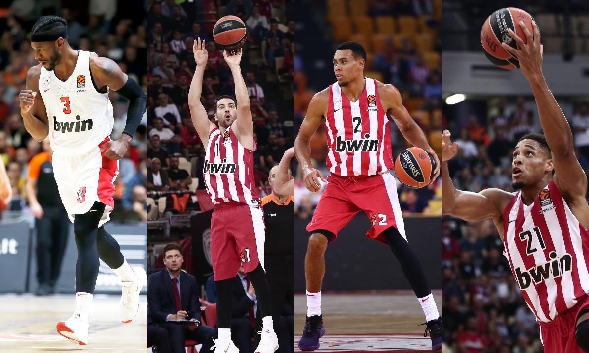 Ολυμπιακός: Απίστευτο, τέσσερις Αμερικανοί, 0/16 σουτ! - Sportime.GR