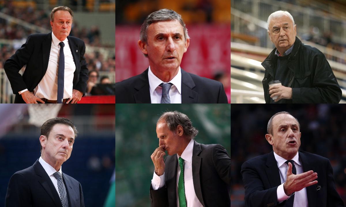 Euroleague προπονητές: Μέσος όρος ηλικίας, 63 έτη! - Sportime.GR