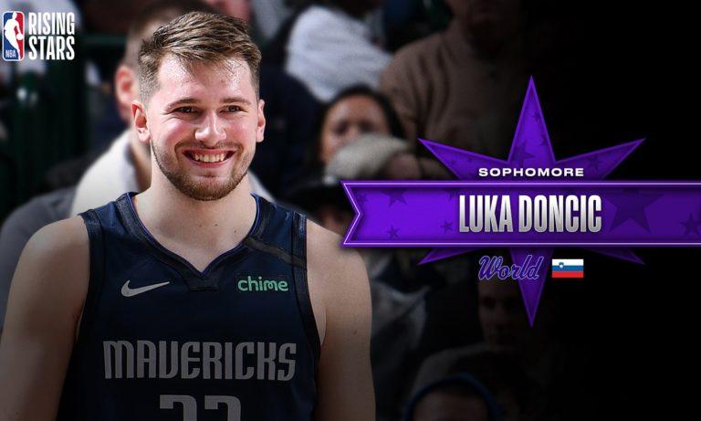 NBA All Star Game: Με Ντόντσιτς ο αγώνας των Rising Stars