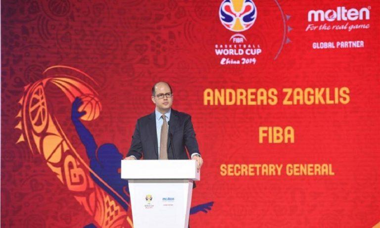 Ζαγκλής για Στερν: «Η FIBA θα τον ευγνωμονεί πάντα»