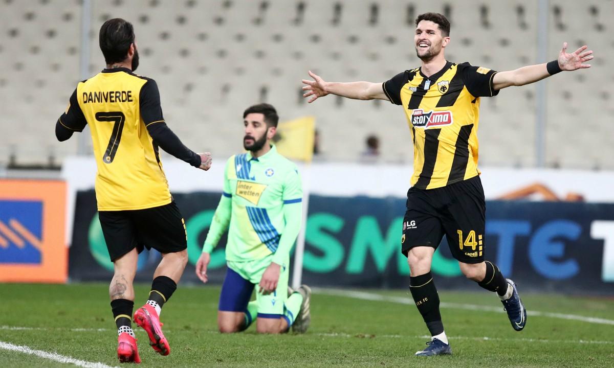Κύπελλο, ΑΕΚ-Αστέρας Τρίπολης 2-0: Πέρασε «σβηστά» στα