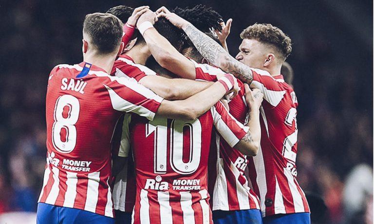 Ατλέτικο Μαδρίτης – Λεβάντε 2-1: Στην 3η θέση οι «ροχιμπλάνκος» (vid)