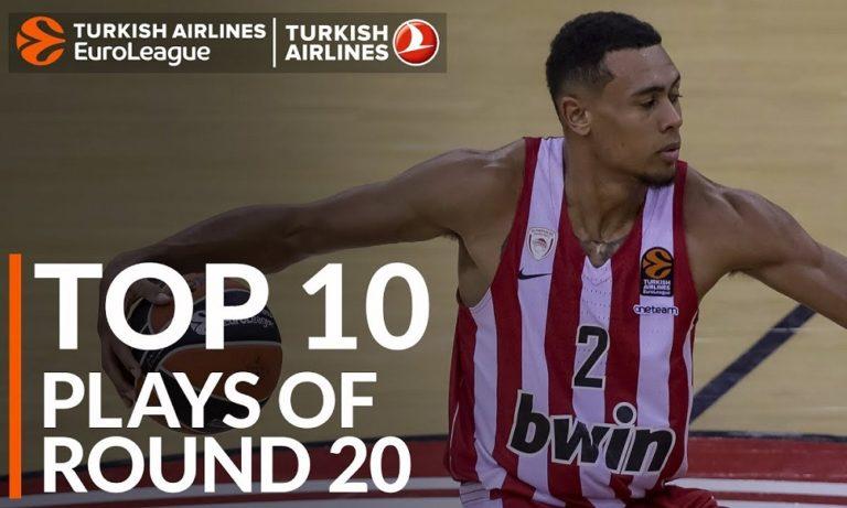 Top-10 με Μπόλντγουιν και Ράις στην Euroleague (vid)