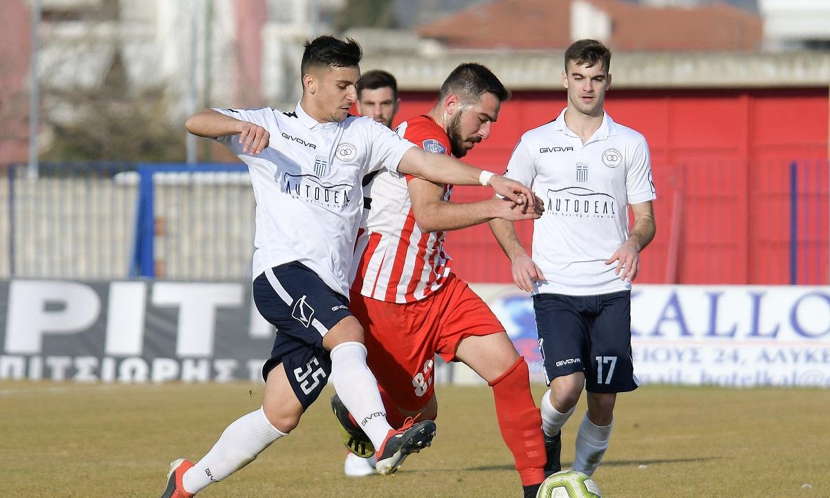 Football League: Ισόπαλο το ντέρμπι, διπλά για Νίκη Βόλου, Διαγόρα - Sportime.GR