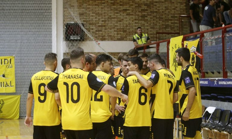 Futsal Super League: Εδραιώθηκε στην κορυφή η ΑΕΚ