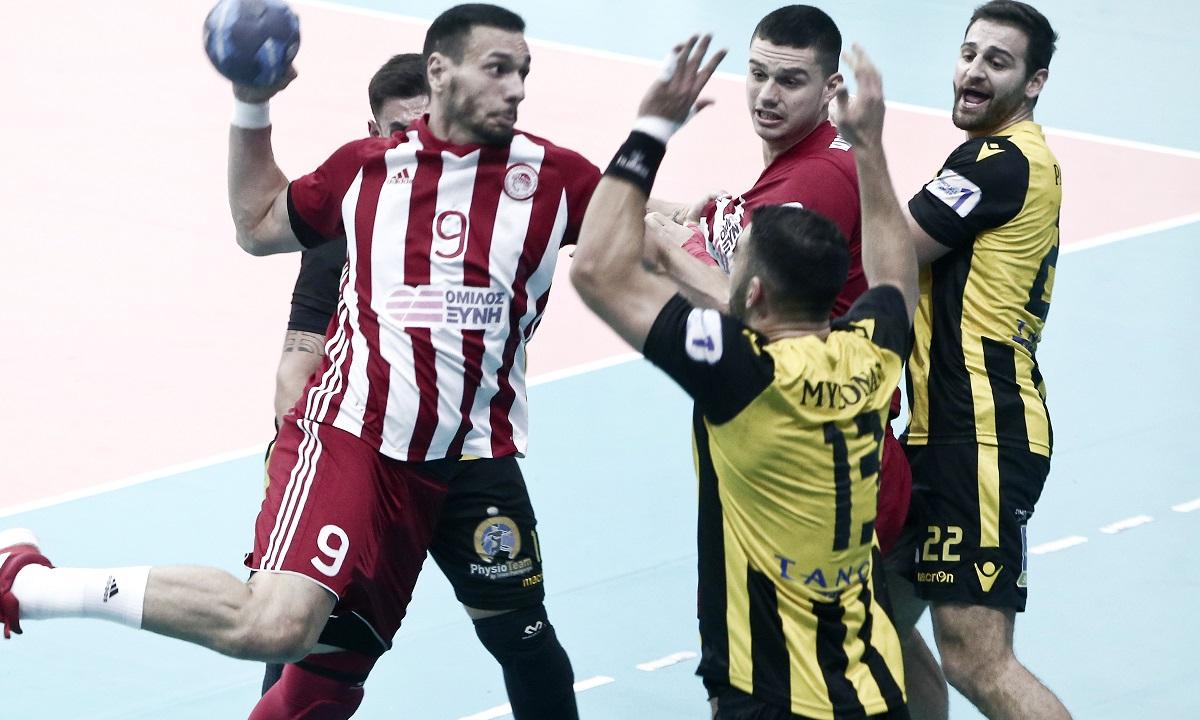 Κύπελλο Ελλάδας χάντμπολ: Ντέρμπι ανάμεσα σε Ολυμπιακό και ΑΕΚ