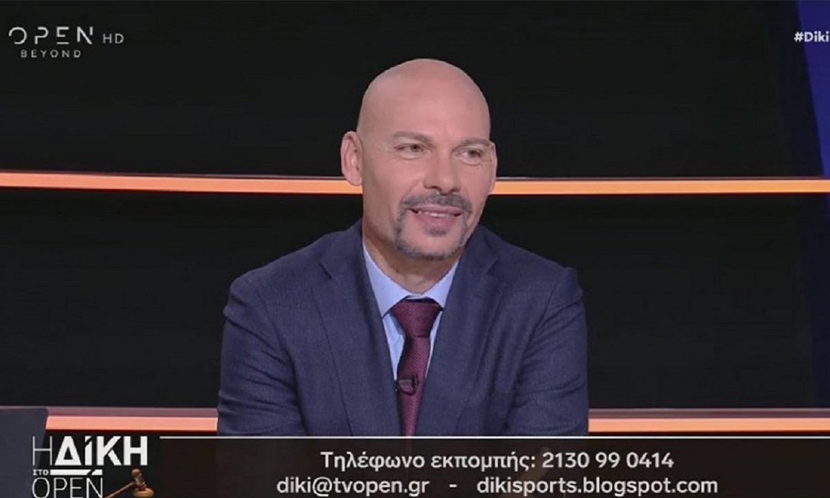 Κάκος: «Έπρεπε να δοθεί πέναλτι στην ΑΕΚ»