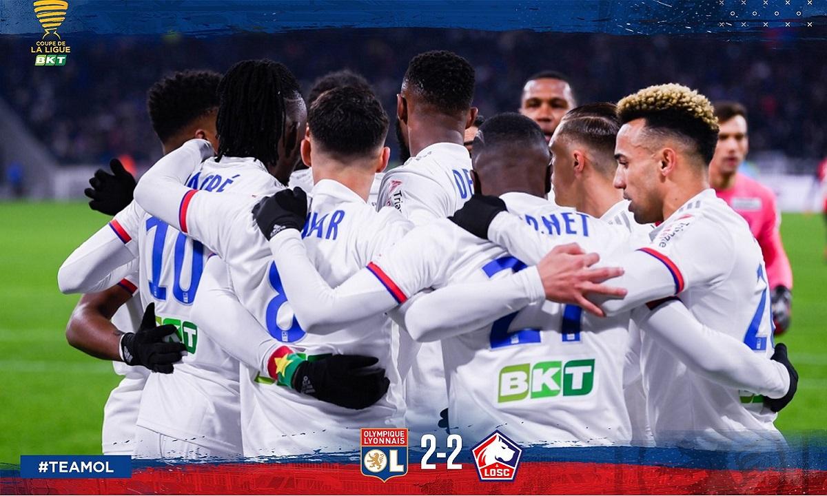 Λιόν – Λιλ 4-3 πέν.: Τρομερό ματς, στον τελικό οι «γκον»! vid
