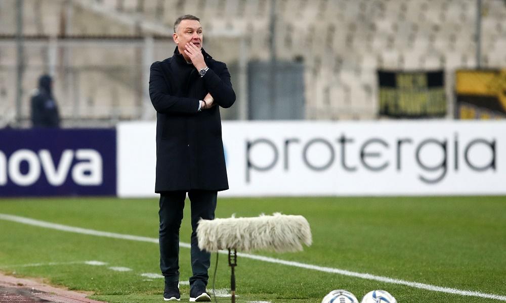 Γρηγορίου: «Μέχρι και το πρώτο γκολ της ΑΕΚ ήμασταν καλά»