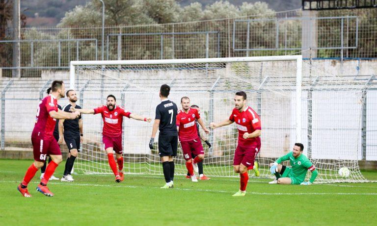 Σημαντική νίκη για τα Χανιά, 2-1 την Δόξα Δράμας (vid)