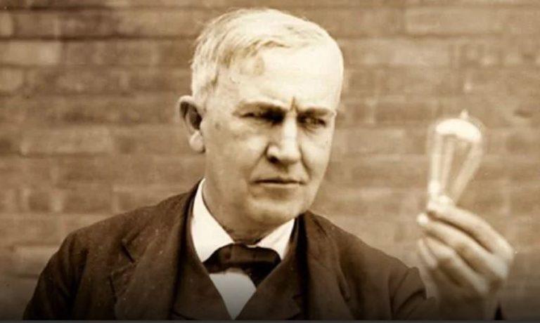 Ο Τόμας Έντισον και η ιστορία του ηλεκτρικού λαμπτήρα (vid)