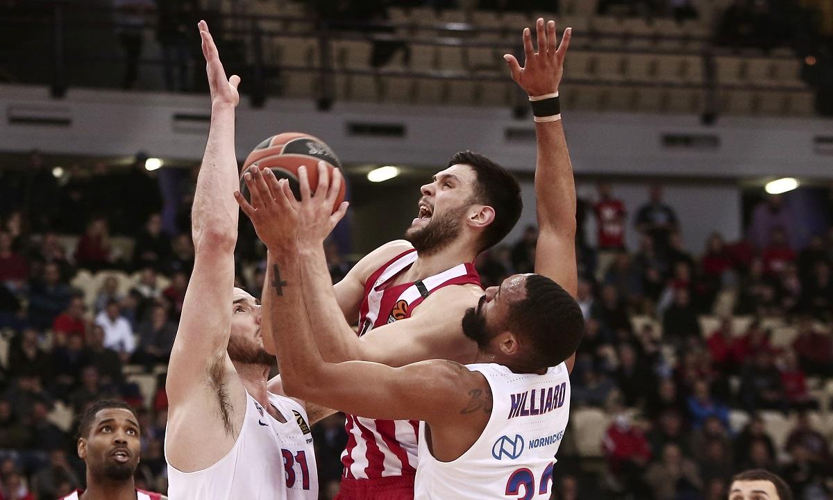 Ολυμπιακός- ΤΣΣΚΑ 72-59: Όπου κι όπως τη βρίσκει!