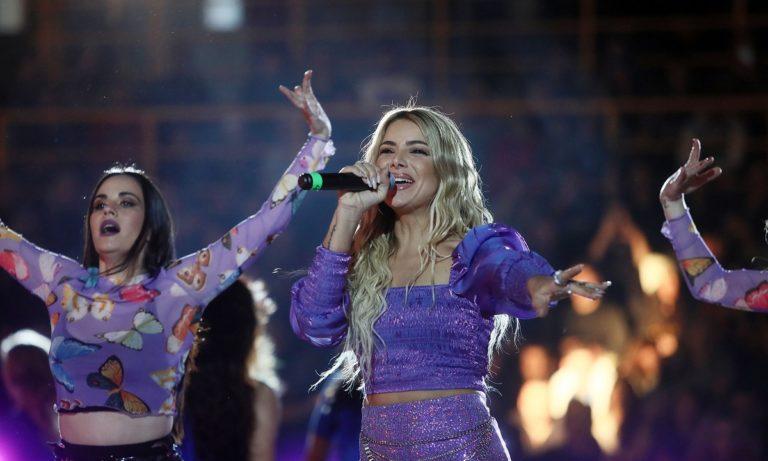 All Star Game: Η Josephine ξεσήκωσε το κοινό μαζί με τις cheerleeders της Ζαλγκίρις (vid)