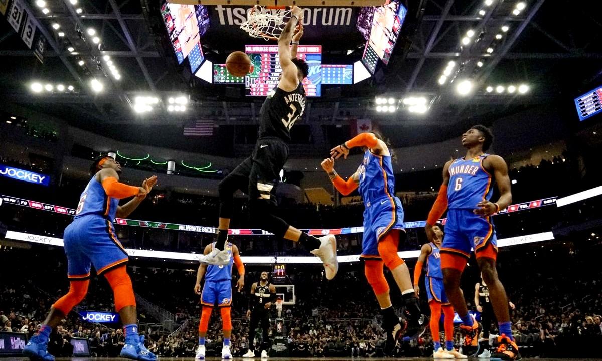 Αντετοκούνμπο-NBA