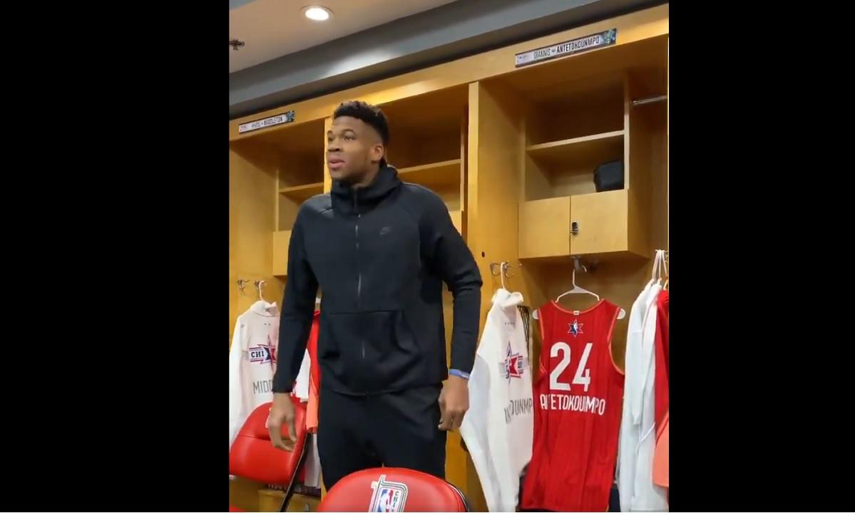 NBA All Star Game 2020: Έτοιμος ο κάπτεν Αντετοκούνμπο (vid)