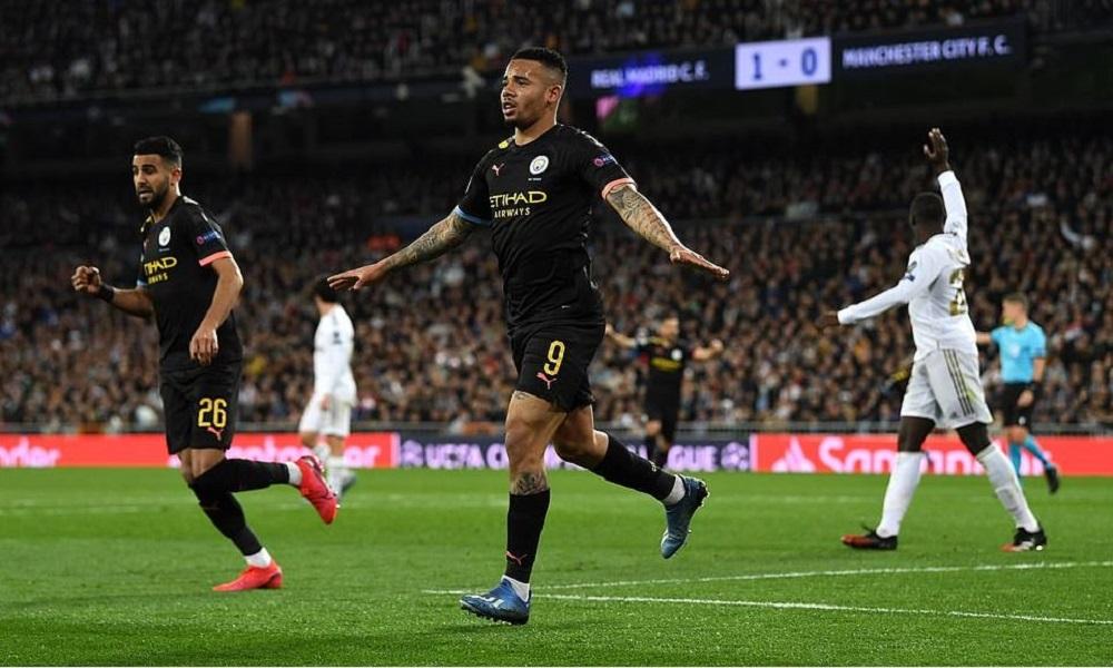 Ρεάλ Μαδρίτης - Μάντσεστερ Σίτι 1-2